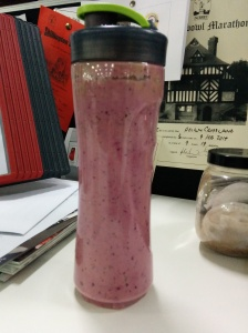 YUMMY smoothie that didn't last till the afternoon!
